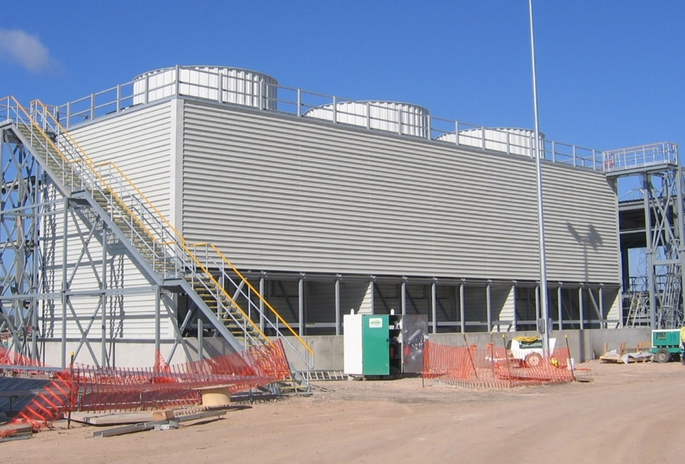 Composite engineering and construction of GRP Cooling Towers
