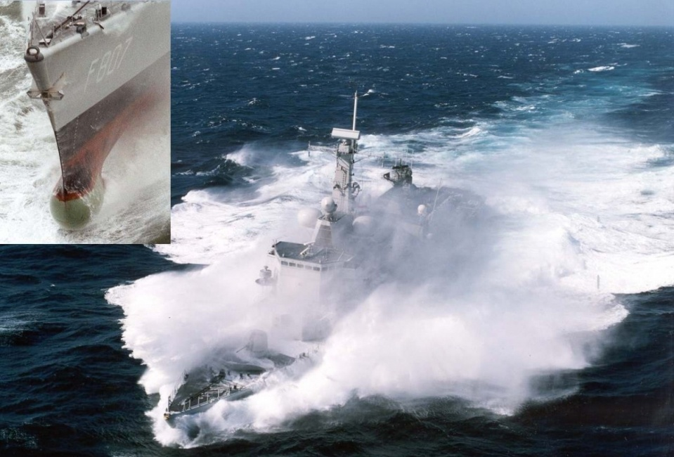 A new generation of composite sonar domes for the Royal Dutch Navy.