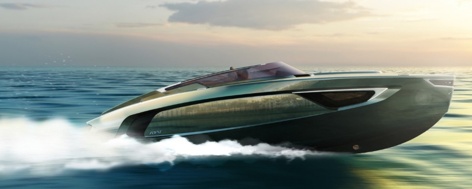 The composite engineering of a unique sport boat: meet the Flynt 956 Nova!